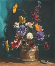 Sale 8504 - Lot 584 - Brian Blanchard (1934 - ) - Still Life 45 x 37.5cm