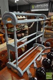 Sale 8515 - Lot 1068 - Timber Towel Rail
