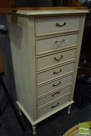 Sale 8523 - Lot 1049 - French Style Chest of Drawers