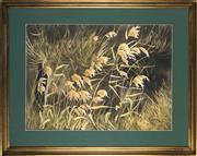 Sale 8789 - Lot 2040 - Margaret Wills (1933 - ) - Growing Wild 55 x 75cm