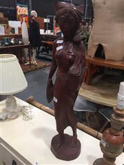 Sale 8822 - Lot 1780 - Timber Statue