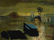 Sale 9081A - Lot 5007 - Sidney Nolan (1919 - 1992) - Ned Kelly Series 47 x 63 cm (frame: 64 x 79 x 3 cm)