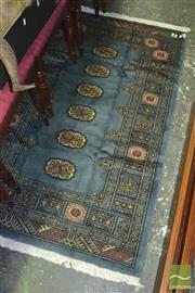 Sale 8310 - Lot 1600 - Pakistani Turkoman Wool Carpet in Pastel Grey