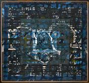 Sale 8344 - Lot 528 - Rodney Milgate (1934 - 2015) - Godspell, 1973 105.5 x 105.5cm