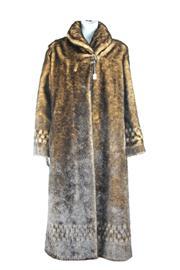 Sale 8391 - Lot 60 - Faux mink Alpine Studio Long ladies Coat