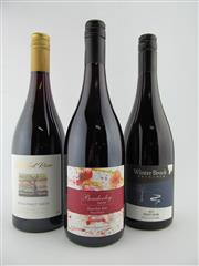 Sale 8398A - Lot 801 - 3x Pinot Noir - 1x 16 Old Kent River, Frankland River; 1x 16 Bendooley Estate, Sth Highlands; 1x 15 Winter Brook, Tasmania