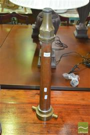 Sale 8431 - Lot 1022 - Copper and Brass Fire Nozzle
