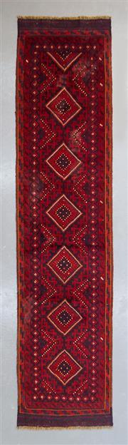 Sale 8472C - Lot 61 - Persian Baluchi Runner 270cm x 65cm