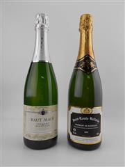 Sale 8514 - Lot 1767 - 2x NV Cremant de Bordeaux - 1x Jean-Louis Ballaria, 1x Haut Maco