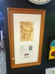 Sale 8640 - Lot 2096 - Original William Dobell Ink Sketch