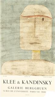 Sale 8794A - Lot 5087 - After Paul Klee & Wassily Kandinsky - Galerie Berggruen 58.5 x 33.5cm