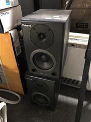 Sale 8789 - Lot 2238 - Pair of Roland Speakers