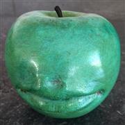 Sale 8878T - Lot 23 - Claude Lalanne Bronze Pomme Bouche Apple Sculpture   Height - 7.5cm