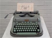 Sale 9071 - Lot 1045 - Vintage Hermes Typewriter