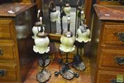 Sale 8341 - Lot 1006 - Set of Four Table Lamps