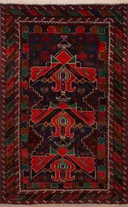 Sale 8390C - Lot 18 - Persian Baluchi 110cm x 180cm