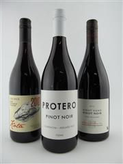 Sale 8398A - Lot 802 - 3x Pinot Noir - 1x 10 Kenton Hill Vineyards Protero Gumeracha, Adelaide Hills; 1x 14 Paddy Borthwick Right Hand, Wairarapa; 1x 1...