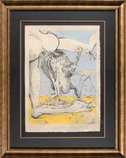 Sale 8427 - Lot 517 - Salvador Dali (1904 - 1989) - Untitled (from Les Songes Drolatiques de Pantagruel), 1973 66 x 47.5cm
