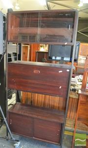 Sale 8435 - Lot 1096 - Vintage Three Tier Ladderax System