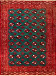 Sale 8447C - Lot 49 - Silk Base Persian Turkman 280cm x 210cm