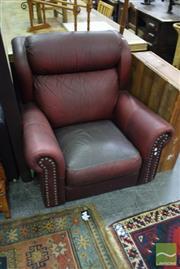 Sale 8507 - Lot 1033 - Single Leather Armchair