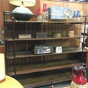 Sale 8643 - Lot 1013 - Large Industrial Five Tier Open Shelf on Castors (H: 157.5 x W: 180 x D: 55.5cm)