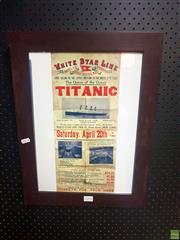 Sale 8645 - Lot 2093A - Titanic Memorabilia