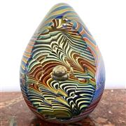 Sale 8878T - Lot 24 - Art Glass Paperweight by Richard Golding  Height - 9.5cm