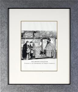Sale 9113 - Lot 2078 - Graham Laidler (1908 - 1932) (14 works) - The British Character Series (from Punch Magazine) 50 x 43 cm (13), 32 x 32 cm (1), (frame...