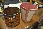 Sale 8386 - Lot 1100 - Two Timber Buckets