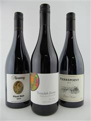 Sale 8398A - Lot 803 - 3x Pinot Noir - 1x 15 Terindah Estate Two Bays, Bellarine Peninsula; 1x 15 Pierrepoint, Henty; 1x 14 Nazaaray, Mornington Peninsula