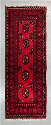 Sale 8472C - Lot 63 - Afghan Turkman 145cm x 55cm