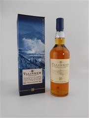 Sale 8498 - Lot 1727 - 1x Talisker 10YO Isle of Skye Single Malt Scotch Whisky - limited edition, 700ml in presentation box