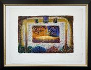 Sale 8789 - Lot 2022 - David Dodsworth (1952 - ) - Quadro II 38 x 58.5cm