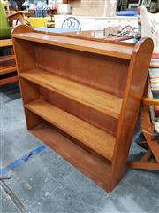 Sale 8680 - Lot 1071 - Oak Open Bookshelf