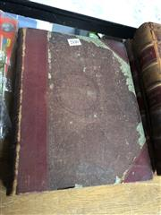 Sale 8819 - Lot 2440 - Hannay, James The Complete Works of William Hogarth, pub. C. Griffin & Co., leather spine