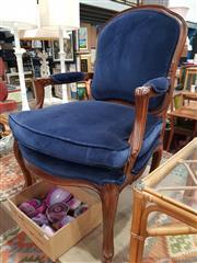 Sale 8863 - Lot 1086 - French Upholstered Carver