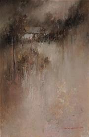 Sale 8980A - Lot 5029 - John Lovett (1953 - ) - Down The Road, Hill End , 1984 60 x 39.5 cm (frame: 64 x 53 x 5 cm)