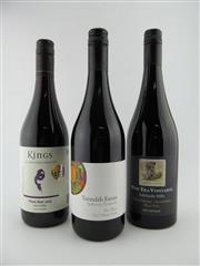 Sale 8398A - Lot 804 - 3x Pinot Noir - 1x 15 New Era Vineyards Basket Pressed, Adelaide Hills; 1x 15 Terindah Estate Two Bays, Bellarine Peninsula; 1x...