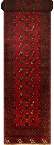 Sale 8412C - Lot 77 - Afghan Turkman Runner 560cm x 80cm