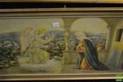 Sale 8464 - Lot 2066 - Framed Religious Print