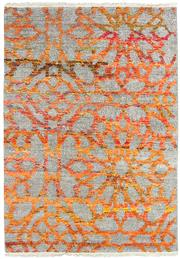 Sale 8626A - Lot 96 - A Cadrys Indian Sari Silk Carpet, Size; 222x161cm, RRP; $1100