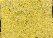 Sale 8743 - Lot 526 - George Ward Tjungurrayi (c1945 - ) - Tingari, 2005 150 x 204cm