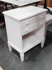 Sale 8912 - Lot 1084 - Timber Bedside
