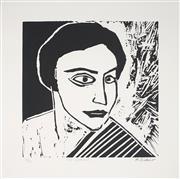 Sale 9009A - Lot 5019 - Robert Dickerson (1924 - 2015) - The Actress, 2001 30 x 30 cm (frame: 90 x 78 x 2 cm)