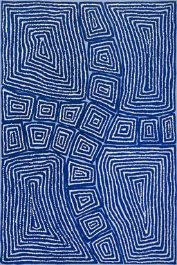 Sale 9128A - Lot 5075 - Thomas Tjapaltjarri (c1964 - ) - Tingari, 2012 90 x 60 cm (stretched and ready to hang)